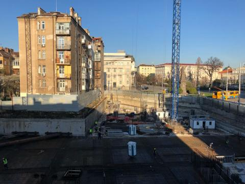 Construction site @ Sofia